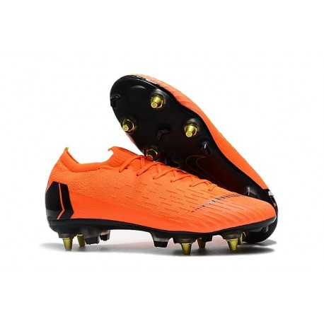 Chaussures Nike Mercurial Vapor 360 Elite SG-Pro Orange Noir