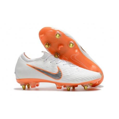 Chaussures Nike Mercurial Vapor 360 Elite SG-Pro Blanc Orange