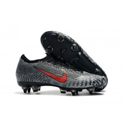 Chaussures Nike Mercurial Vapor 360 Elite SG-Pro Neymar Blanc Noir Rouge
