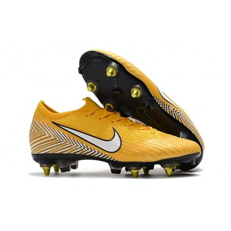 Nike Mercurial Vapor 12 SG-Pro Anti Clog Neymar Jaune Blanc