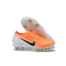 Nike Mercurial Vapor 12 SG-Pro Anti Clog Homme Orange Noir