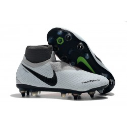 Nike Phantom Vision Elite DF SG-Pro Anti Clog Gris Rouge
