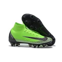 Nike Nouveau Mercurial Superfly 6 Elite SG-Pro AC Vert Noir