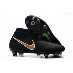 Nike Phantom Vision Elite DF SG-Pro Anti Clog Noir Or