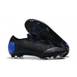 Nike Chaussure Mercurial Vapor XII 360 Elite FG Noir Bleu Orange