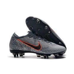 Nike Mercurial Vapor 12 SG-Pro Anti Clog Homme Gris Orange
