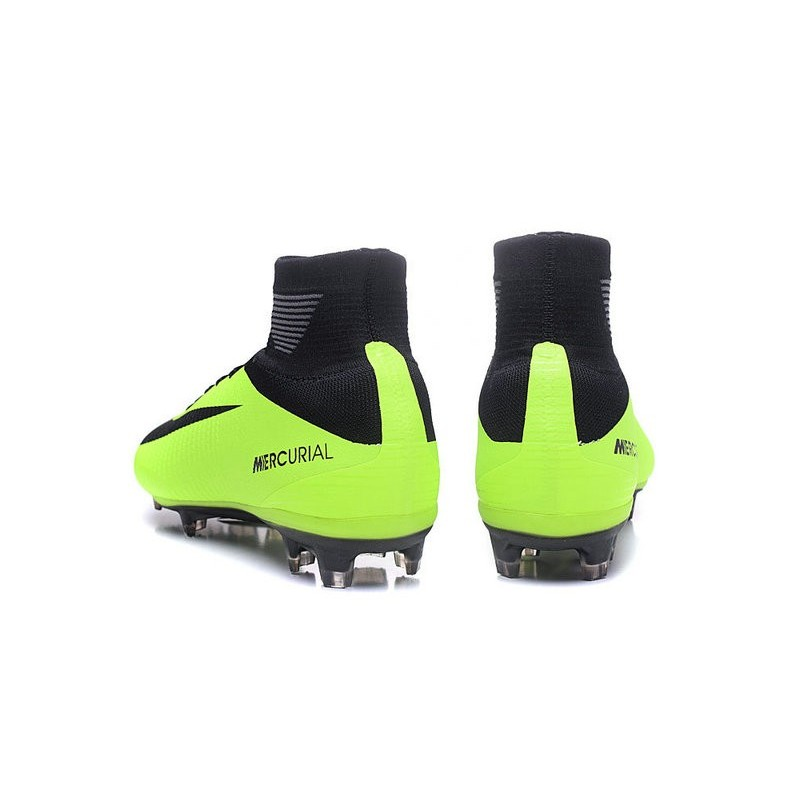 new products 9b0ce 4e34c Chaussures Foot Acc Noir Mercurial Vert Homme De V Nike Superfly Fg arqaw50x