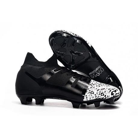 Chaussure Nike Mercurial GreenSpeed 360 FG Noir Blanc