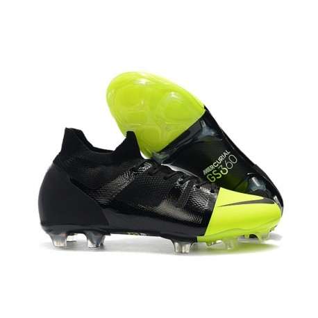 Chaussure Nike Mercurial GreenSpeed 360 FG Noir Vert