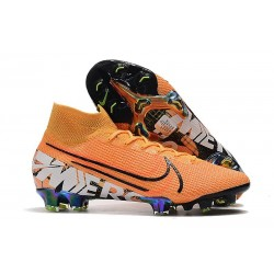 Crampons Nike Mercurial Superfly 7 Elite FG Orange