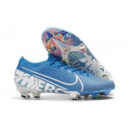 Chaussure Nike Mercurial Vapor 13 Elite FG New Lights Bleu