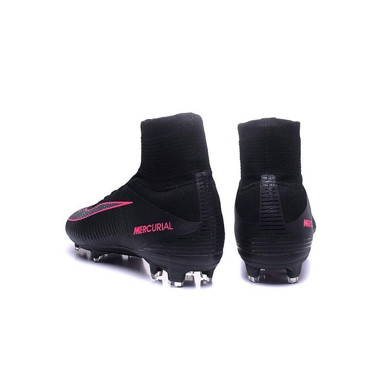 official photos b04ac 40ccf Homme Nike Foot Mercurial Superfly De Noir V Rose Chaussures Acc Fg q61wR8x