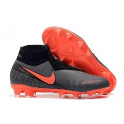Chaussure Nike Phantom Vision Elite DF FG Noir Cramoisi