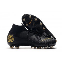 Nike Mercurial Superfly 7 Elite AG-PRO Noir Or