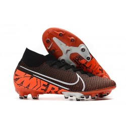 Nike Mercurial Superfly 7 Elite AG-PRO Noir Orange