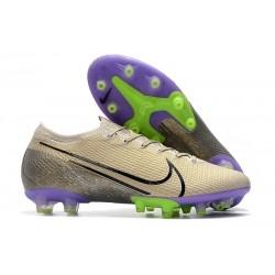 Crampons Nike Mercurial Vapor 13 Elite Pro AG Sable du Désert Noir Violet