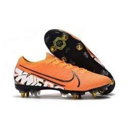 Nike Mercurial Vapor XIII Elite SG-Pro AC Orange Blanc
