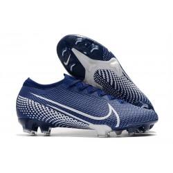Nouveau Nike Mercurial Vapor 13 Elite FG ACC Bleu Blanc