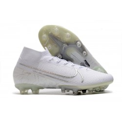 Nike Mercurial Superfly 7 Elite AG-PRO Blanc