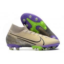 Nike Mercurial Superfly 7 Elite AG-PRO Sable du Désert Noir Violet