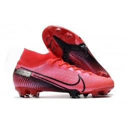 Nike Chaussure Mercurial Superfly VII Elite FG Cramoisi Noir