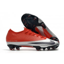 Nouveau Nike Future DNA Mercurial Vapor 13 Elite FG Rouge Argent