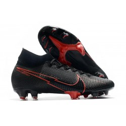 Nike Mercurial Superfly 7 Elite FG ACC Noir Rouge