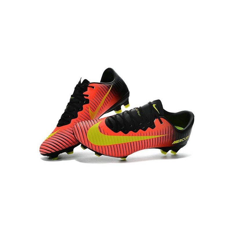 Rpoqf Nike Mercurial Football Jaune Homme Orange Fg Vapor Xi Chaussures ZwvAA4