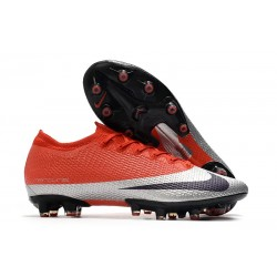 Crampons Nike Mercurial Vapor 13 Elite Pro AG Rouge Argent Noir