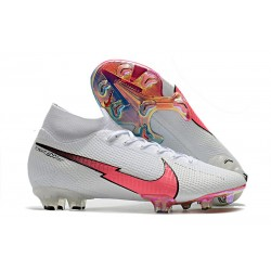 Nike Mercurial Superfly 7 Elite FG ACC Blanc Rouge Bleu