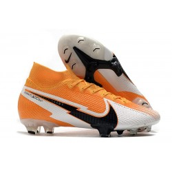 Nike Mercurial Superfly 7 Elite FG ACC Orange Laser Noir Blanc