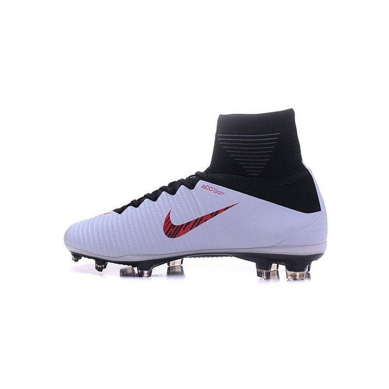 Rouge De Foot Superfly Blanc V Nike Homme Crampon Mercurial Fg AqSc354jLR