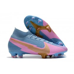 Nike Mercurial Superfly VII 360 Elite FG - Rose Bleu Or