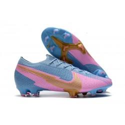 Nike Nouvel Mercurial Vapor 13 Elite FG - Bleu Rose Or