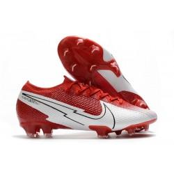 Nike Nouvel Mercurial Vapor 13 Elite FG - Rouge Blanc