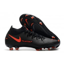 Nike Phantom GT Generative Texture Elite DF FG Noir Rouge Chili Gris