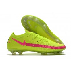 Nike Phantom GT Generative Texture Elite FG Jaune Rose