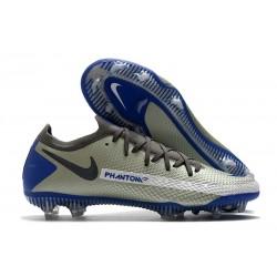 Nike Phantom GT Generative Texture Elite FG Gris Noir Bleu