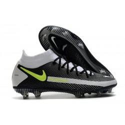 Nike Phantom GT Generative Texture Elite DF FG Noir Gris Vert