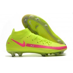 Nike Phantom GT Generative Texture Elite DF FG Vert Rose