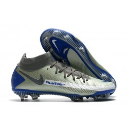 Nike Phantom GT Elite Dynamic Fit DF FG Gris Bleu