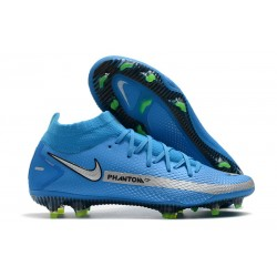 Nike Phantom GT Elite Dynamic Fit DF FG Bleu Argent
