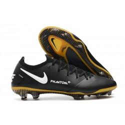 Chaussures 2021 Nike Phantom GT Elite Tech Craft FG Noir Or