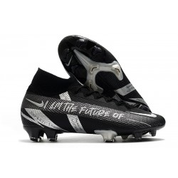 Nike Mercurial Superfly 7 Elite DF FG Noir Argent