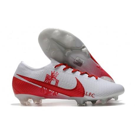 Nike Nouvel Mercurial Vapor 13 Elite FG - LFC Blanc Rouge