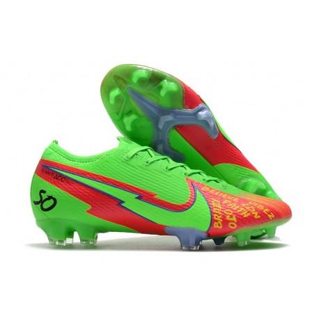 Nike Nouvel Mercurial Vapor 13 Elite FG - Vert Rouge