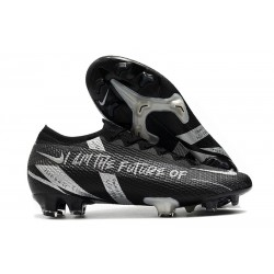 Nike Nouvel Mercurial Vapor 13 Elite FG - Future Noir Argent
