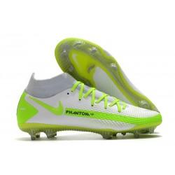 Nike Phantom GT Elite Dynamic Fit DF FG Blanc Vert