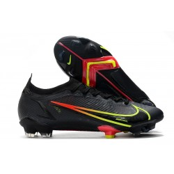 Chaussures Nike Mercurial Vapor 14 Elite FG Noir Cyber Noir