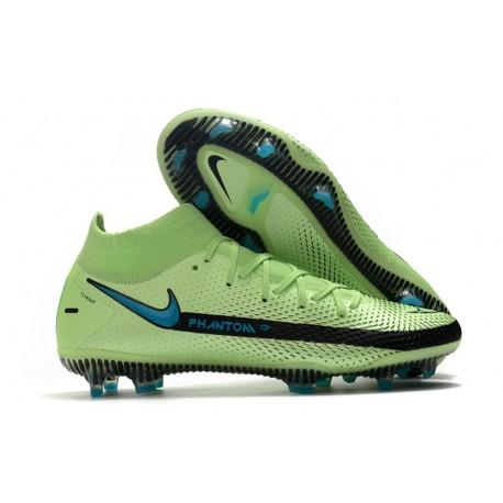 Nike Phantom GT Elite Dynamic Fit DF FG Vert Noir Bleu